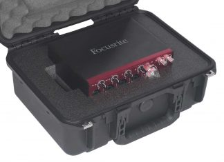 SKB 3I-1610-5 Case Custom Foam Example: Focusrite Clarett 4Pre-USB Case