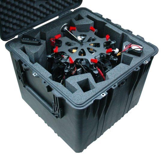 S1000 Drone Case - Foam Example