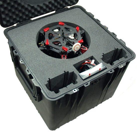 S900 Drone Case - Foam Example