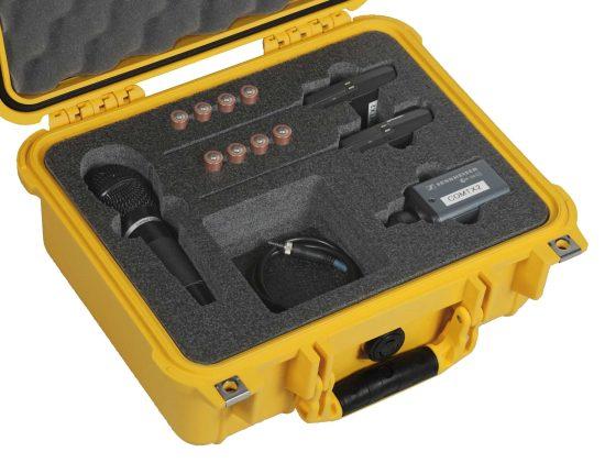 Sennheiser EW100 G3 Kit Case - Foam Example