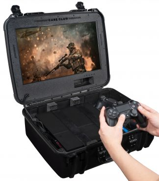 PlayStation 4 / PS4 Slim / PS4 Pro Portable Gaming Station with Built-in Monitor, Gen 2 - Foam Example