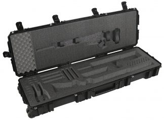 Seahorse 1630 Case Custom Foam Example: Tavor, AR15, And Shotgun Case