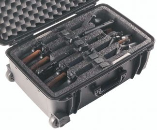 Case Club CC920SE Case Custom Foam Example: 10 Pistol Case