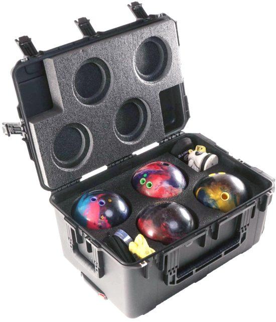 x4 Bowling Ball Case - Foam Example