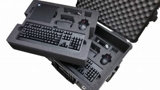 Custom Foam: 2 Lenovo ThinkCentre M910q Computer Case