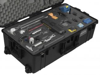 Pelican™ Air 1615 Case Custom Foam Example: Extech BR150 Video Borescope Camera Kit Case