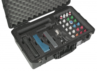 Custom Foam: Water Testing Kit Case with Fluorometer