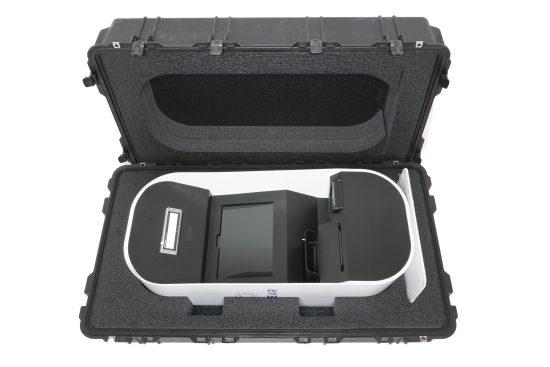 CLEAR Kiosk Case - Foam Example