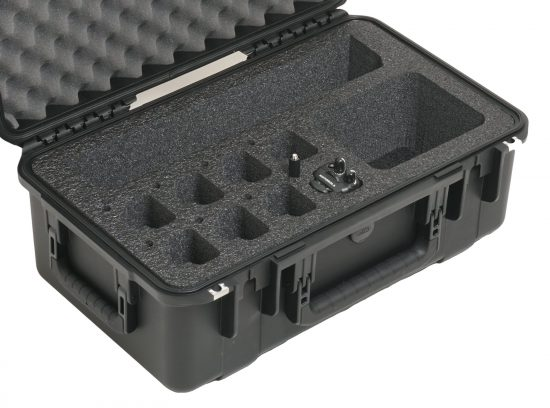 Qty 8 Motorola CP185 Radio Case - Foam Example