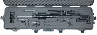 Custom Foam: JD Machine Tech Rifle Case
