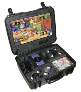Nintendo GameCube Portable Gaming Station with Built-in Monitor - Instructions