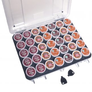 Seahorse 85 Case Custom Foam Example: Waterproof 35 Keurig Coffee Pod Case