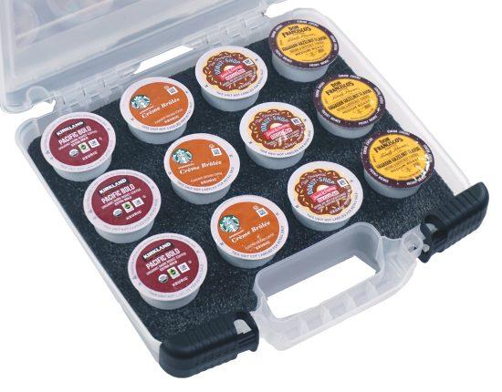 12 Keurig Coffee Pod Case - Foam Example