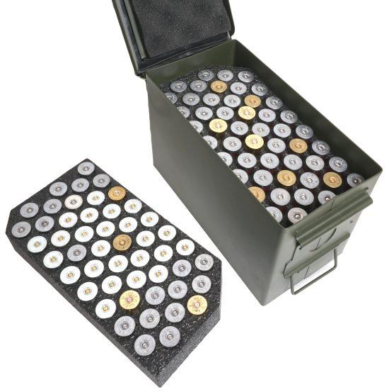 shotgun shell ammo can foam