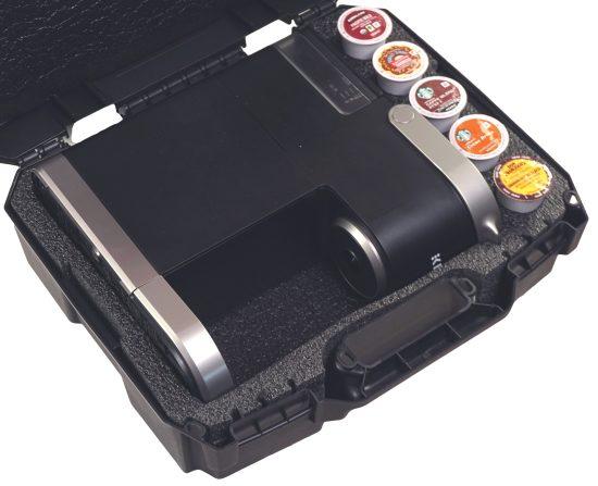 Keurig K-Mini Coffee Carry Case - Foam Example