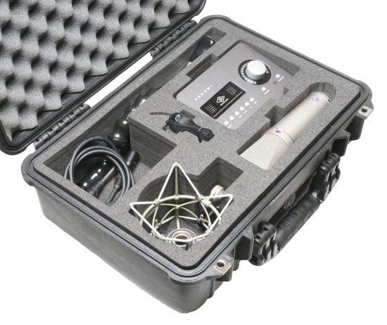 Neumann U87 Ai & Universal Audio Arrow Case - Foam Example