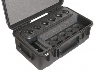 SKB 3I-2011-8 Case Custom Foam Example: Qty 10 Quantum QP-550 Radio Case