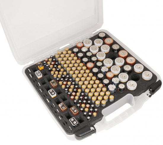 Battery Organizer Case - Foam Example