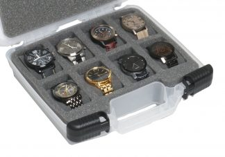 Custom Foam: 8 Watch Carry Case