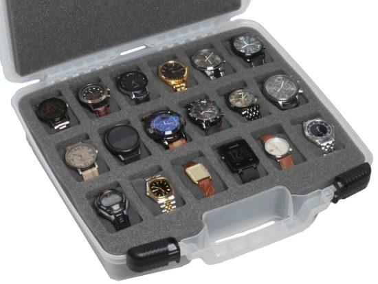 18 Watch Carry Case - Foam Example