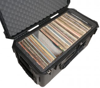 SKB 3I-2914-15 Case Custom Foam Example: Vinyl Records Case