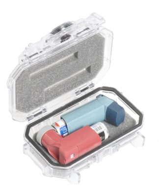Custom Foam: 2 Inhaler Case