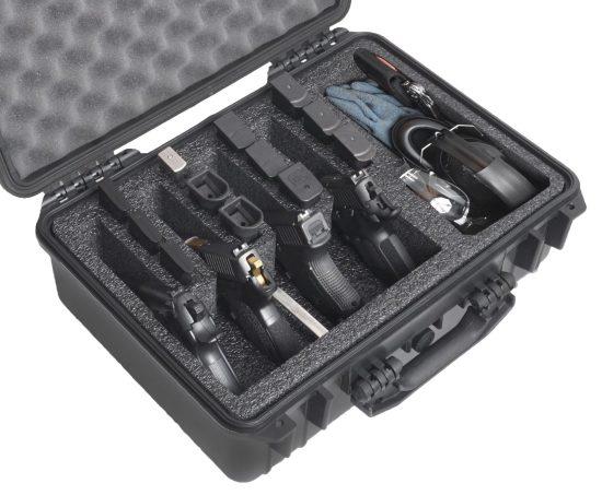 4 Pistol & Accessory Case (Gen-2) - Foam Example