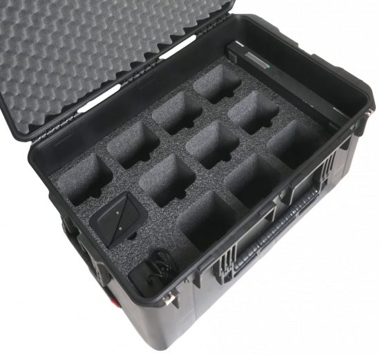 Shure DC 5980 P Portable Discussion Unit Case - Foam Example