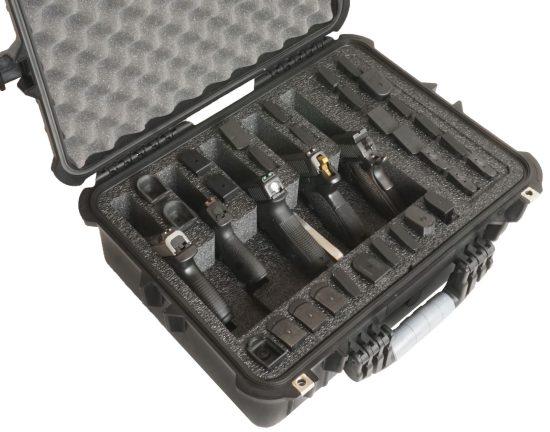 5 Pistol & Accessory Case (Gen-2) - Foam Example
