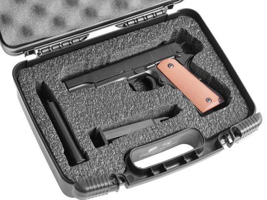 Single Pistol Carry Case - Foam Example