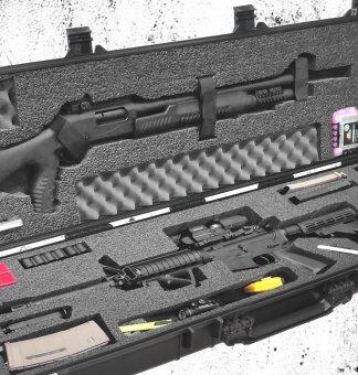 Multiple Long Gun Cases