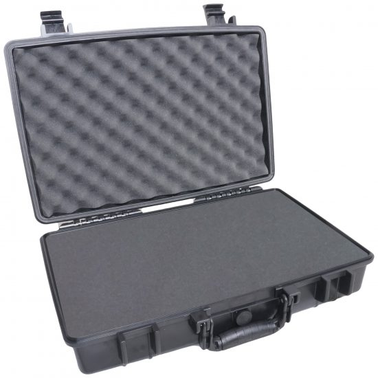 Case Club 1490 case shown with foam