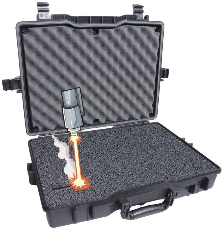 Case Club 1495 case with custom foam insert