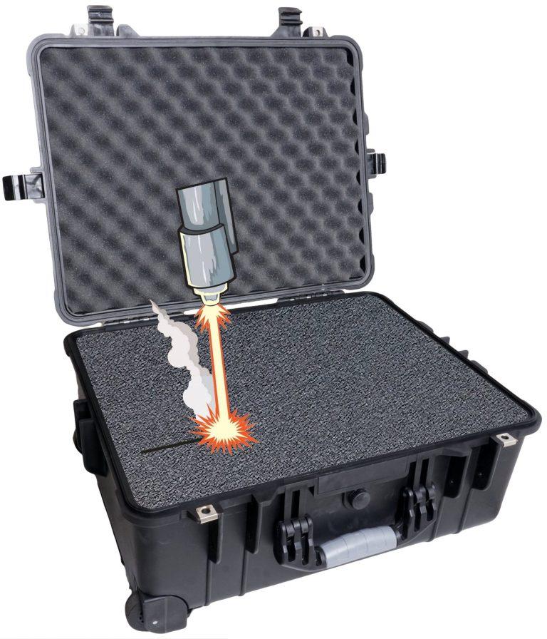 Case Club 1560 case with custom foam