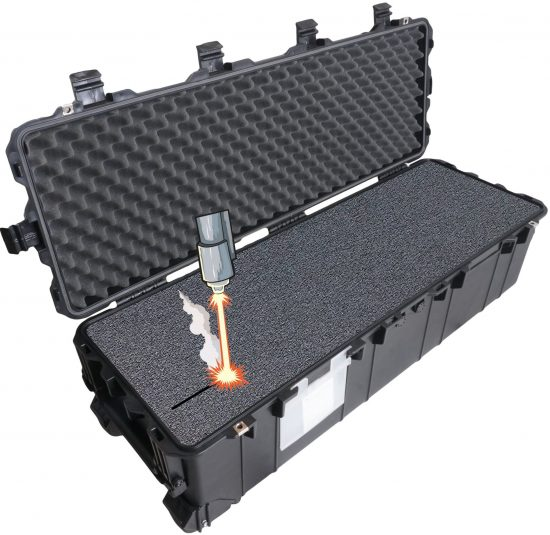 Case Club 1740 case with custom foam