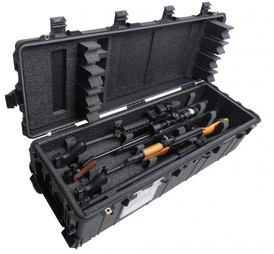Multiple Rifle or Shotgun Case & 3 Pistols